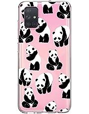 Oihxse Cristal Compatible con Samsung Galaxy J2 prime/G530 Funda Ultra-Delgado Silicona TPU Suave Protector Estuche Creativa Patrón Panda Protector Anti-Choque Carcasa Cover(Panda A6)