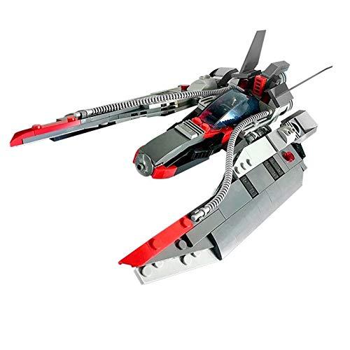 Nuevo 304 piezas juguetes Star Movie Series Space Ship Fighter bloques de construcción modular bloque modelo