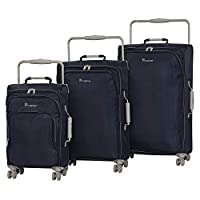 it luggage worlds lightest 3-piece luggage set on amazon