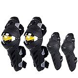 SCOYCO Knee-and-Shin Guards Anti-slip for Men Powersport Protection, Motorbike, Mountain Biking Bicycle Dirt-bike