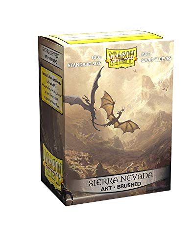 Dragon Shield Sleeves - 100 CT - MGT Card Sleeves - Compatible with Magic The Gathering Card Sleeves Pokémon and Other Card Games - Limited Edition Brushed Art: Among The Sierra Nevada