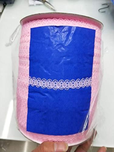 Nieuwe aanbieding!10 meter/stuk mooie 15mm brede marine kant lint kant borduurwerk kant kleding trim decoratie, roze