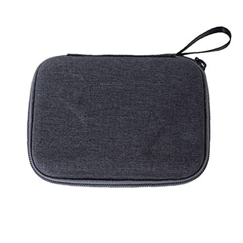 Tuimiyisou Mini Estuche 2 Caja de la cámara del Pulgar de la cámara de Almacenamiento de Bolsa de Viaje portátil Compatible con los Accesorios Insta360 Go 2 Cámara Negro práctico Funcional