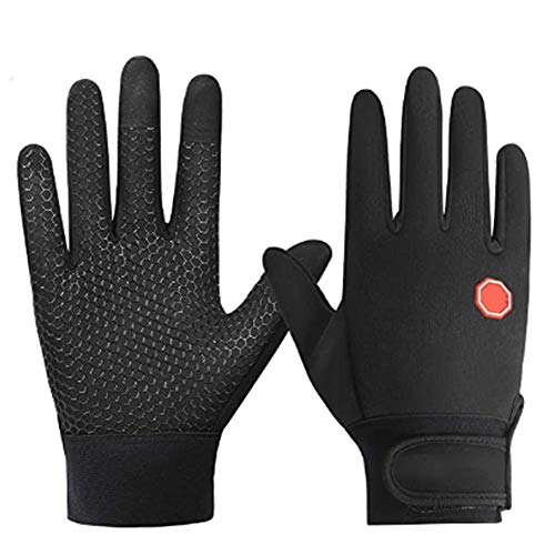 EDG Winter Running Gloves Touchscreen Thermal Gloves Men Women Winter Windproof & Waterproof Gloves Snow Warm Gloves Liners for Running Cycling Driving Skiing Outdoor Sports,M