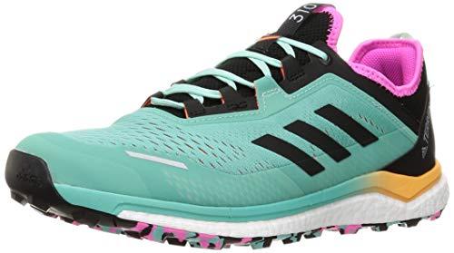 adidas Terrex Agravic Flow, Zapatillas de Trail Running Hombre, MENACI/NEGBÁS/ROSCHI, 42 EU
