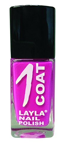 Layla Cosmetics 1 Coat Nagellack, break pink, 1er pack (1 x 0.017 L)