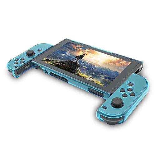 Funda para Nintendo Switch, Hard Case Funda para Switch, asnlove Premium PC Carcasa Case Cover Carcasa Funda para Nintendo Switch Game joycon controlador, azul