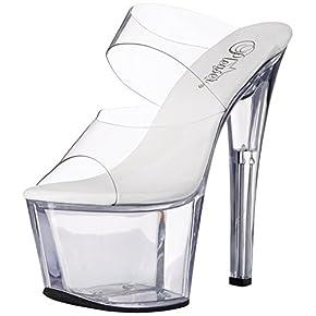 Pleaser Women's SKY302VL/C/M Platform Dress Sandal