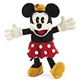 Folkmanis Vintage Minnie - Disney Character Puppet, Black, Gold, Red, White (5019)