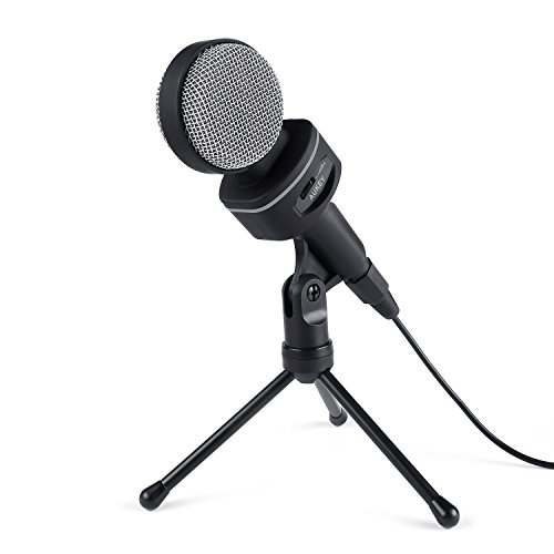 AUKEY MI-W1 Microfono a Condensatore da Tavolo  [Coupon Amazon]