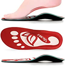 Orthotic Shoe Inserts for Plantar Fasciitis Women and Men,Arch Support Comfort Insole,Metatarsal Pad,Relief Heel and Arch Pain,Flat Feet,Shin Splints,OverPronation