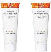 Ecco Bella, Herbal Body Lotion, Vanilla, 8 fl oz (200 ml) - 2pc