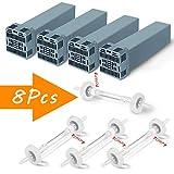 CPAPフィルタの交換は4つのカートリッジフィルターと4チェックバルブ(4セット)、SoClean用カートリッジ活性炭フィルターのキットを含む2