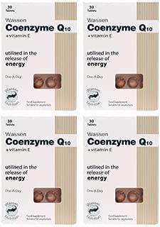 (4 PACK) - Wassen - Coenzyme Q10 + Vitamin E | 30's | 4 PACK BUNDLE