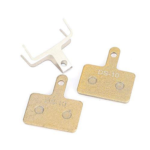 Tbest Scheibenbremsbeläge, 1 Paar Fahrradscheibenbremsbeläge aus Metall Fahrradreparatur Ersatzteile Zubehör für winzip / M525 / m495 / m475 / m465 / c501