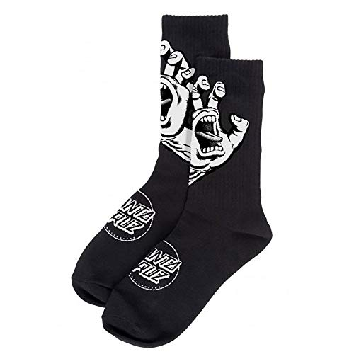 Santa Cruz Calcetines Screaming Hand Mono Negro (Default,