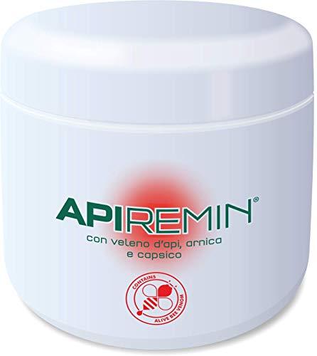 ApiRemin crema al Veleno d'Api Arnica e Capsico Confezione Massaggio 500 ml