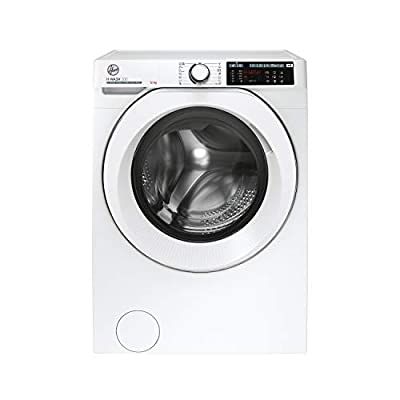 Hoover H-Wash 500 HW412AMC Free Standing Washing Machine, Large Capacity, A+++, 12 kg, 1400 rpm, White