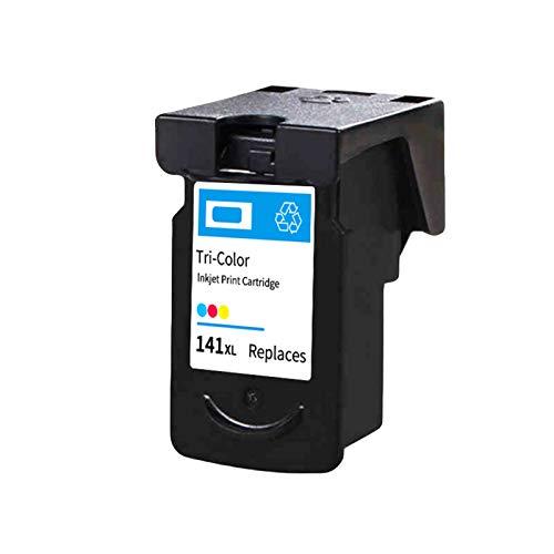 Cartuchos de tinta remanufacturados PG140 CL141, Reemplazo para Canon MG2150 MG315 MG4150 Cartuchos de impresora de inyección de tinta de alto rendimiento negro y co color