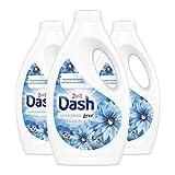 Dash 2en1 Lessive Liquide, Parfum Envolée D'Air Frais, 72 Lavages (3 x 1320 ml)