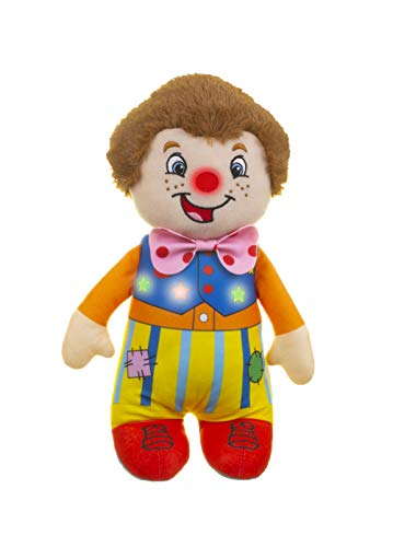 Golden Bear Mr Tumble Touch My Nose Sensory Soft Toy 20 cm with squeaking Toys for Ages 10