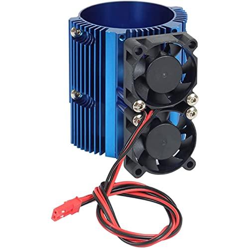 NancyMissY モーターラジエーターモーターラジエーターデュアルファン1 / 10E-Revo BigEサミットBigS冷却ラジエーターモデルカーアクセサリー