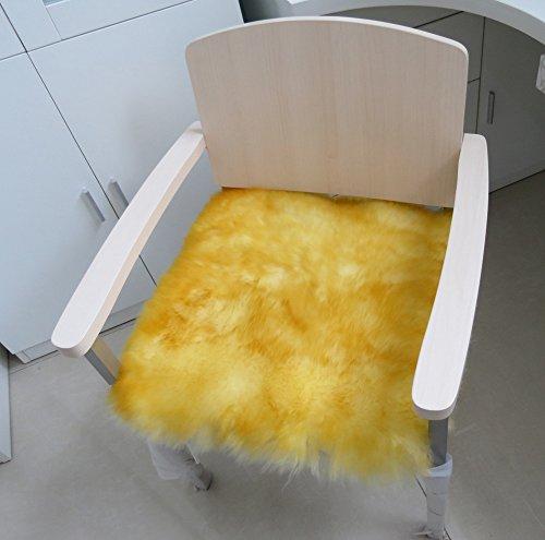 DADAO Car Cushion,Dining Chair pad,Boss Chair,Aussie Imported fur Comfortable Soft seat-R 55x55cm(22x22inch)