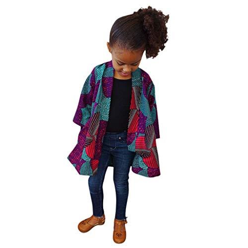Allence 2019 Neue Baby Mantel afrikanischen Stil Kleinkind Kinder Mädchen Junge Herbst Winter afrikanischen winddichten Mantel warme Outwear Jacke für 12 Monate - 5 Jahre alt