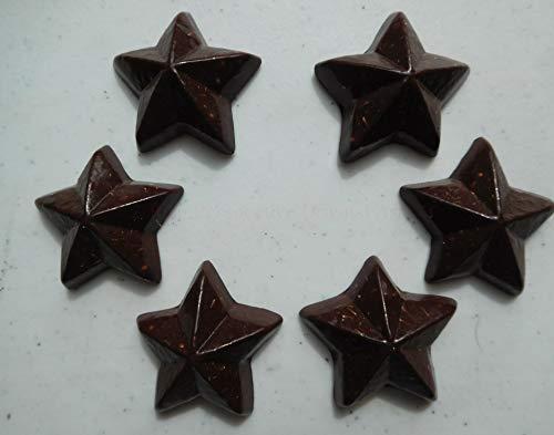 Lowest Prices! 15 Red Sun Five Pointed Stars Crystal Orgone Generator Energy Accumulator 7.83/432/528Hz/Advance Harmonics Many Beautiful Ingredients!! b.Sun Five pntd Stars (15)