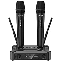 Moukey Plug & Play Wireless Microphones System with 295ft Range