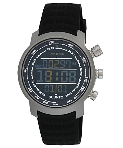 SUUNTO Elementum Terra Black Rubber/Dunkles Display Armbandcomputer