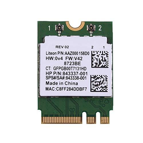 Denash Bluetooth WiFi-Karte 2 in 1, Wireless-Netzwerkkarte mit NGFF M2-Steckplatz für Dell/Toshiba/Acer/Asus, Bluetooth 4.0, 150 Mbit/s Übertragungsrate