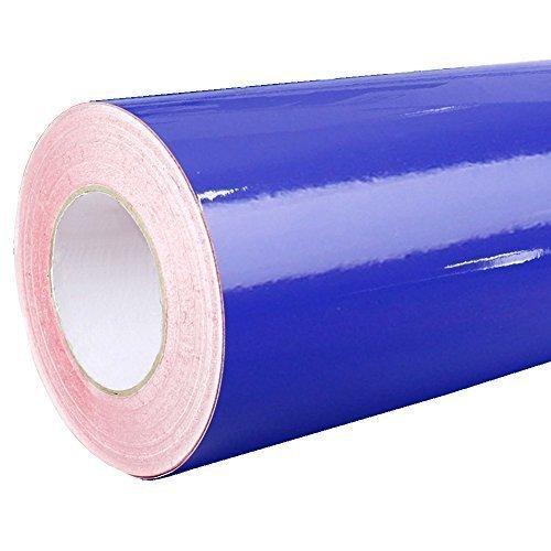 4,75€/m²  Rapid Teck Glanz Folie - 049 Koenigs Blau - Klebefolie - 5m x 63cm - Plotterfolie- Folie Selbstklebend - Auch als Moebelfolie - Klebefolie