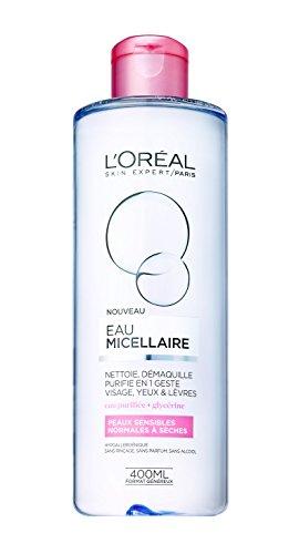 L'Oréal Paris - Eau Micellaire - Peaux Sèches et Sensibles - 400 mL