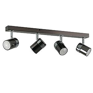 Modern 4 Way Straight Bar Ceiling Spotlight Fitting