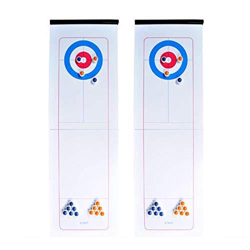 Luminiu Tischspiele Curling Bälle Können Unterhaltungsspiele Gespleißt Werden