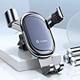 VICSEED Cell Phone Holder for Car, Gravity Car Phone Mount, Auto-Clamping Air Vent Car Phone Holder Fits iPhone 12 Pro Max Mini SE 9 11 Pro Max Xs Max Xr X 8 7 Plus, Samsung Galaxy Note10 S20 S10 Etc.