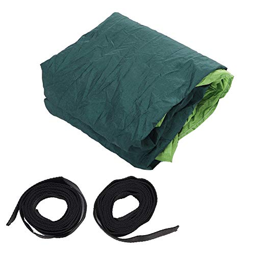 PLLO Portable Hammock Hammock Stand, Camping Hammock, Tree Hammock Travel Hammock, Indoor Hammock for Travel for Hiking Backpacking(Fruit Green Fight Dark Green)