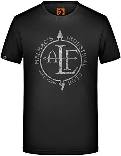 ALF T-Shirt Melmac Industrial Club Frontline Assembly FLA EBM Front Line 242 Größe XL