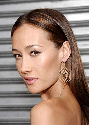 Posterazzi Poster Print EVC0725AGCGM045 Maggie Q at Arrivals for Balls of Fury Premiere Egyptian Theatre Los Angeles Ca August 25 2007. Photo by Michael GermanaEverett Collection Celebrity (8 x 10)