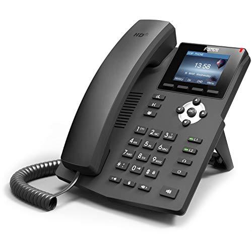 Fanvil X3SP IP Telefon ohne Netzteil POE schwarz