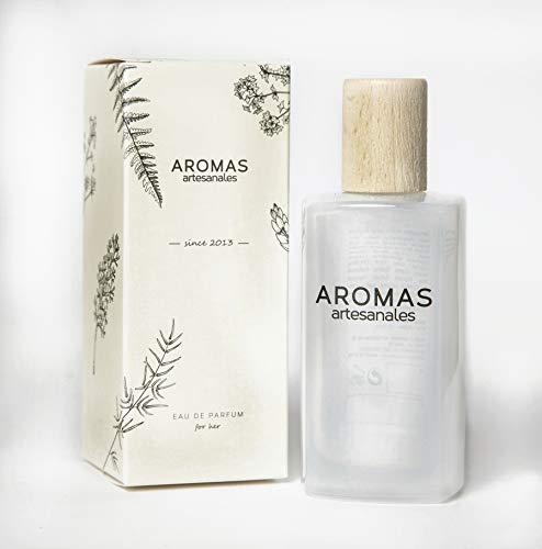 AROMAS ARTESANALES - Eau de Parfum Lesaca | Perfume con vaporizador para Mujeres | Fragancia Femenina 100 ml | Distintos Aromas - Encuentra el tuyo Aquí