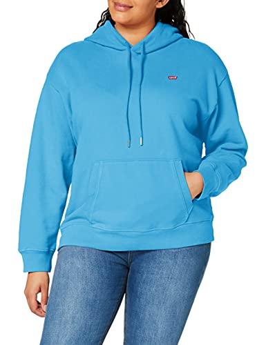 Levi's Standard Hoodie Sudadera, Azul, S para Mujer