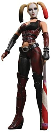 DC Direct Batman  Arkham City  Series 1  Harley Quinn Action Figure by DC Direct TOY (English Manual)
