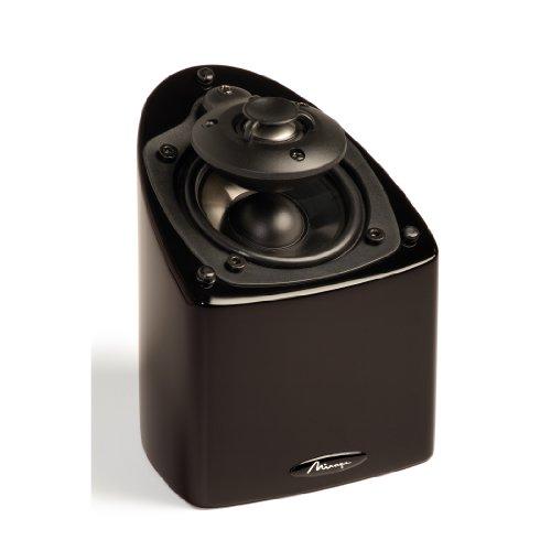 Lowest Price! Mirage Nanosat Prestige Small High-Performance Speaker (Single, Black Lacquer) (Discon...