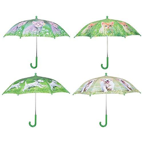 Esschert Paraplu voor kinderen, puppy hond, kat scherm, nieuw bos