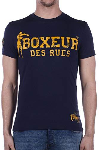 BOXEUR DES RUES - Tshirt Boxeur Street 2, Uomo, Navy, S
