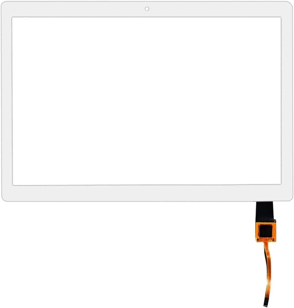 Color : White Replacement Spare Parts Touch Panel for Lenovo Tab M10 HD TB-X505 X505F TB-X505L X505 Repair Parts
