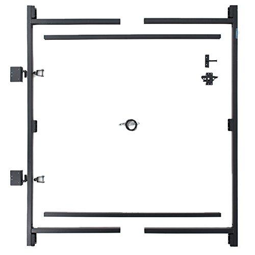 Adjust-A-Gate Steel Frame Gate Building Kit (60'-96' wide openings over 6' high fence)