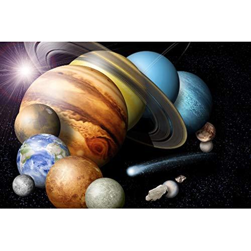 Puzzels 1000 Stuks, Magische Planeet, Houten Educatief Spel Voor Volwassenen En Kinderen, Intellectuele Uitdaging, Puzzeldecoratie Cadeau -5.7